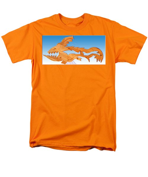 dinosaur fish with bubbles T-Shirt by Robert Margetts