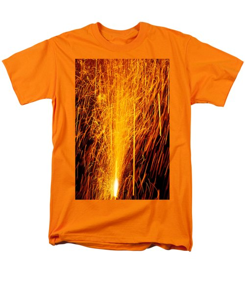 Fireworks Fountain T-Shirt by Garry Gay