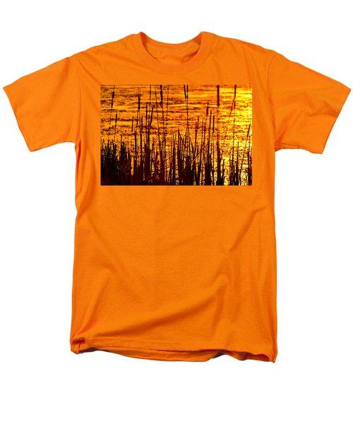 Horicon Cattail Marsh Wisconsin T-Shirt by Steve Gadomski