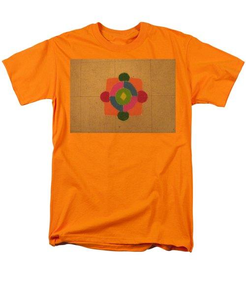 Mandal rangoli T-Shirt by Sonali Gangane