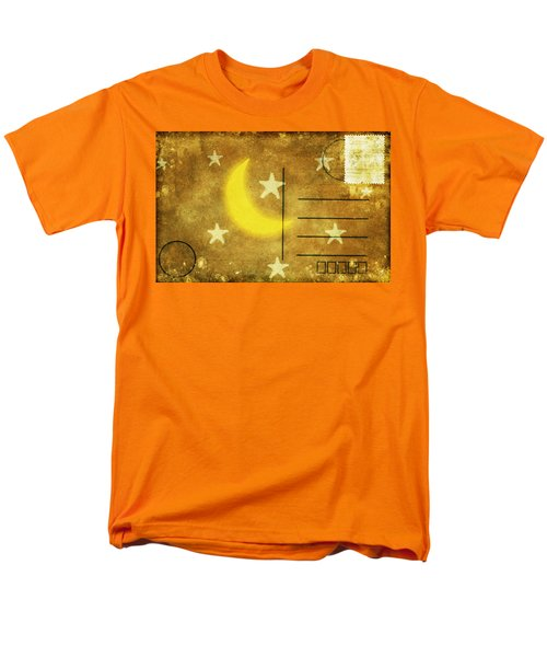moon and star postcard T-Shirt by Setsiri Silapasuwanchai
