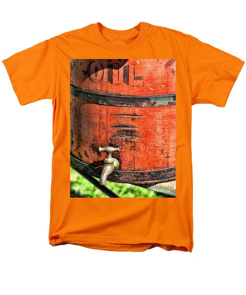 Weathered Red Oil Bucket T-Shirt by Paul Ward