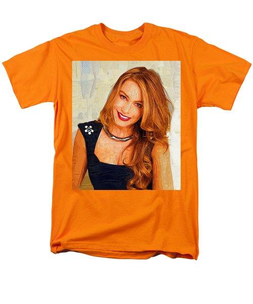 Actress Sofia Vergara  Men's T-Shirt  (Regular Fit) by Best Actors
