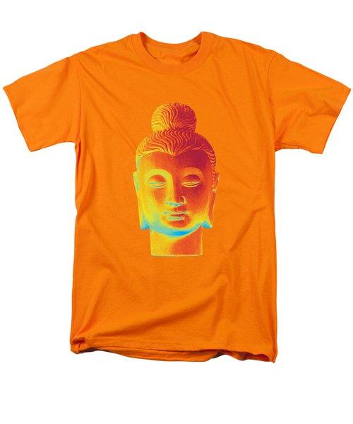 colorful Buddha - Gandhara Men's T-Shirt  (Regular Fit) by Terrell Kaucher