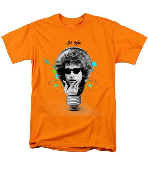 Bob Dylan Collection Men's T-Shirt  (Regular Fit) by Marvin Blaine
