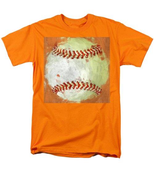 Abstract Baseball T-Shirt by David G Paul