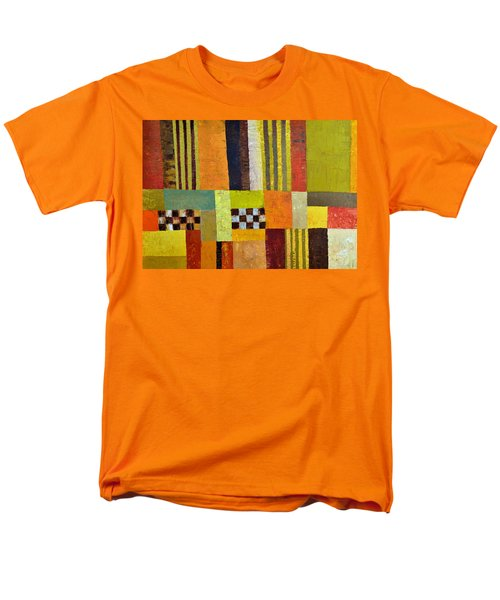 Color and Pattern Abstract T-Shirt by Michelle Calkins