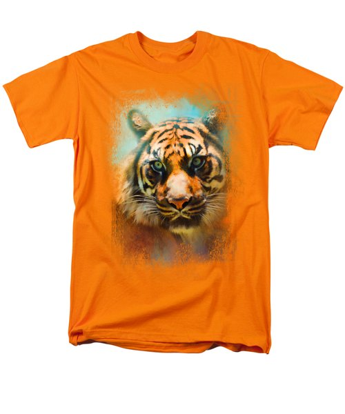 Colorful Expressions Tiger 2 Men's T-Shirt  (Regular Fit) by Jai Johnson