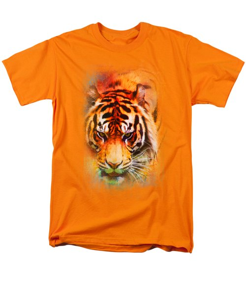 Colorful Expressions Tiger Men's T-Shirt  (Regular Fit) by Jai Johnson