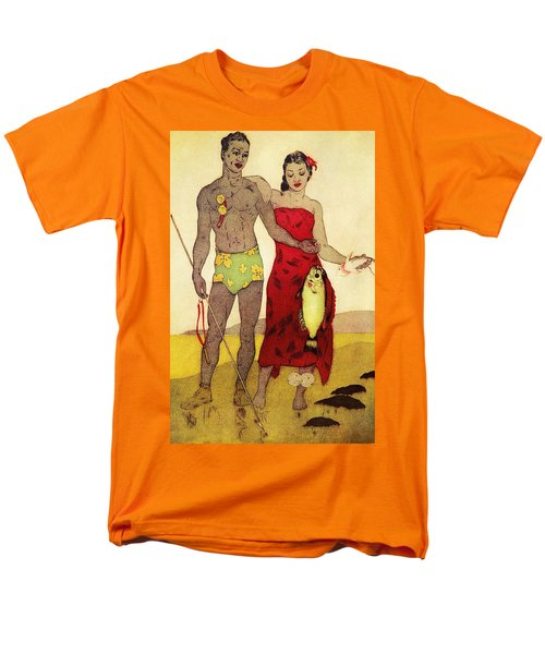 Fisherman T-Shirt by Hawaiian Legacy Archives - Printscapes