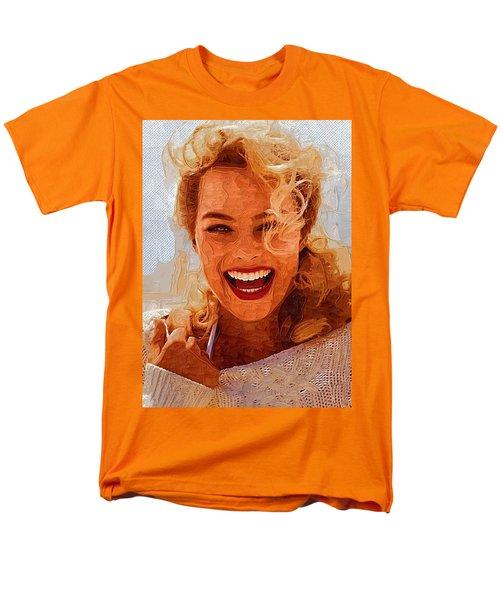 Hollywood Star Margot Robbie Men's T-Shirt  (Regular Fit) by Best Actors