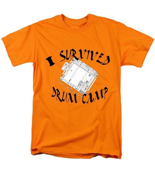 I Survived Drum Camp Men's T-Shirt  (Regular Fit) by M K  Miller