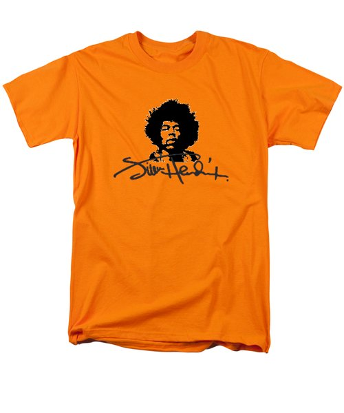 Jimi Hendrix Purple Haze Men's T-Shirt  (Regular Fit) by David Dehner