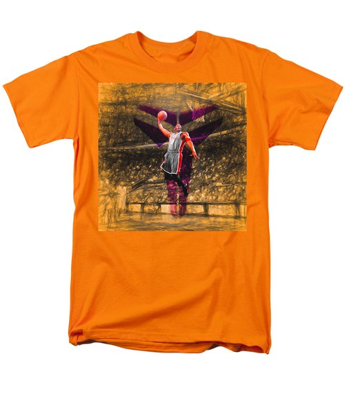 Kobe Bryant Black Mamba Digital Painting Men's T-Shirt  (Regular Fit) by David Haskett