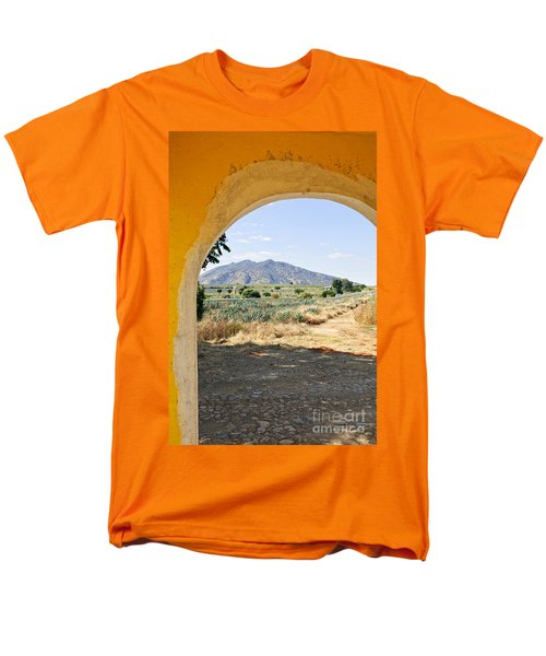 Landscape with agave cactus field in Mexico T-Shirt by Elena Elisseeva