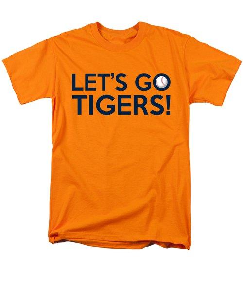 Let's Go Tigers Men's T-Shirt  (Regular Fit) by Florian Rodarte