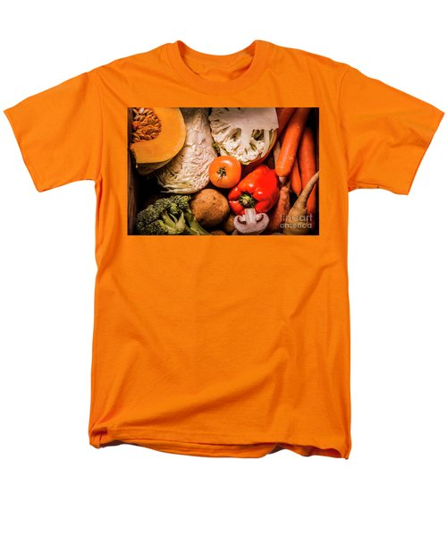 Mixed Vegetable Produce Pack Men's T-Shirt  (Regular Fit) by Jorgo Photography - Wall Art Gallery