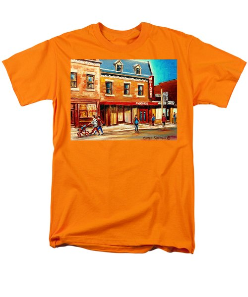 MOISHES THE PLACE FOR STEAKS T-Shirt by CAROLE SPANDAU