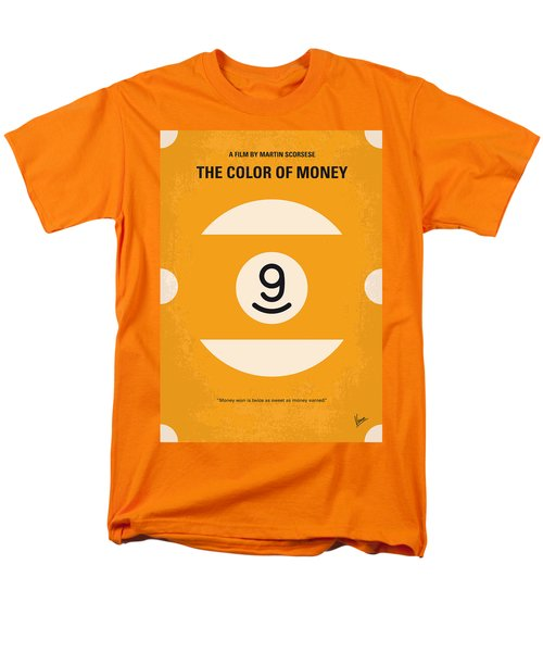 No089 My The color of money minimal movie poster T-Shirt by Chungkong Art