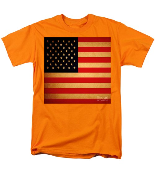 Old Glory . Square T-Shirt by Wingsdomain Art and Photography