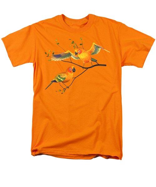 Parrots Conure Men's T-Shirt  (Regular Fit) by Diane Leenknegt