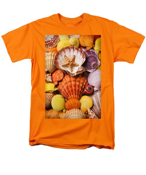 Pile of seashells T-Shirt by Garry Gay