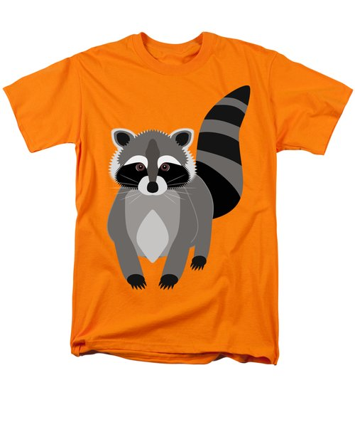 Raccoon Mischief Men's T-Shirt  (Regular Fit) by Antique Images