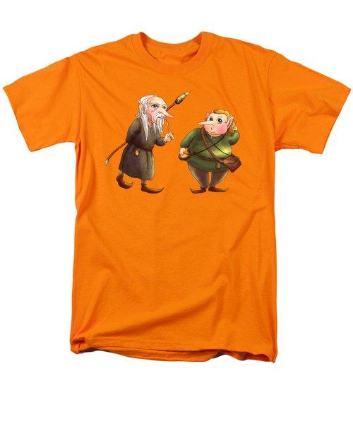Rupert And Shuman Men's T-Shirt  (Regular Fit) by Reynold Jay