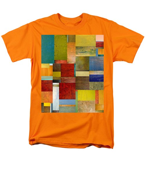 Strips and Pieces l T-Shirt by Michelle Calkins