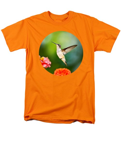 Sweet Promise Hummingbird Men's T-Shirt  (Regular Fit) by Christina Rollo