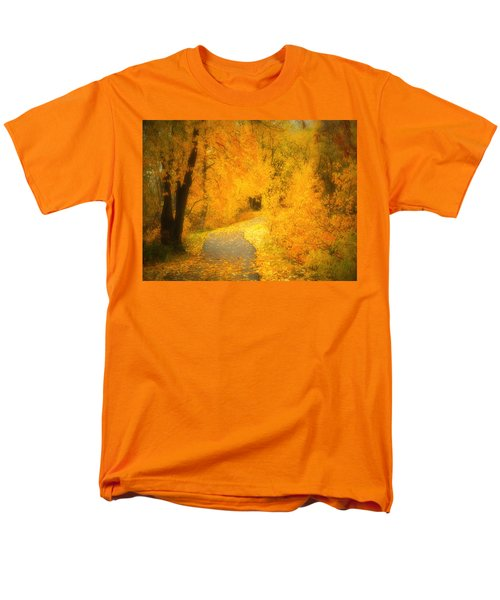 The Pathway of Fallen Leaves T-Shirt by Tara Turner