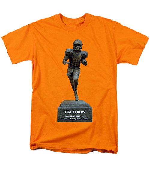 Tim Tebow Transparent For Customization Men's T-Shirt  (Regular Fit) by D Hackett
