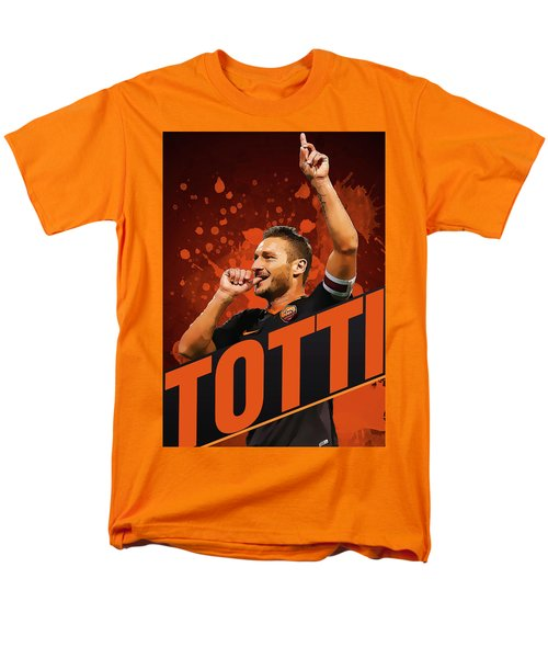 Totti Men's T-Shirt  (Regular Fit) by Semih Yurdabak