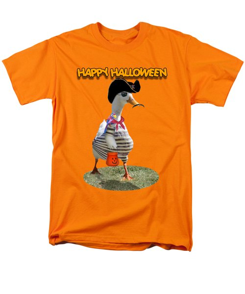 Trick Or Treat For Cap'n Duck Men's T-Shirt  (Regular Fit) by Gravityx9 Designs