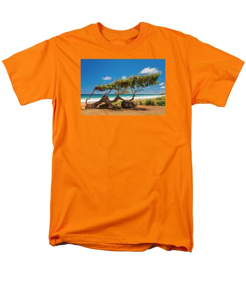 Wind Blown Tree T-Shirt by Brian Harig