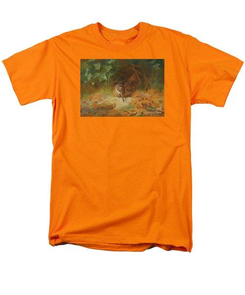 Woodcock Men's T-Shirt  (Regular Fit) by Celestial Images