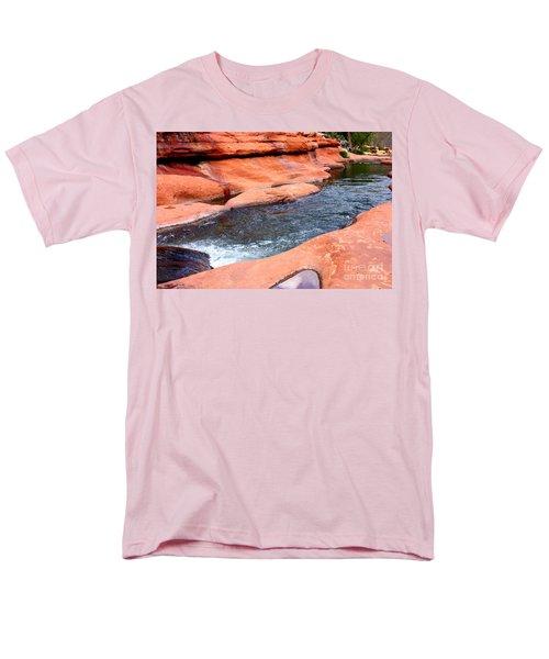 Oak Creek at Slide Rock T-Shirt by Carol Groenen