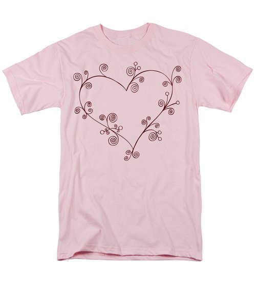 Heart T-Shirt by Frank Tschakert