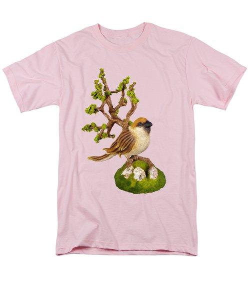 Arborescent Sparrow Men's T-Shirt  (Regular Fit) by Przemyslaw Stanuch
