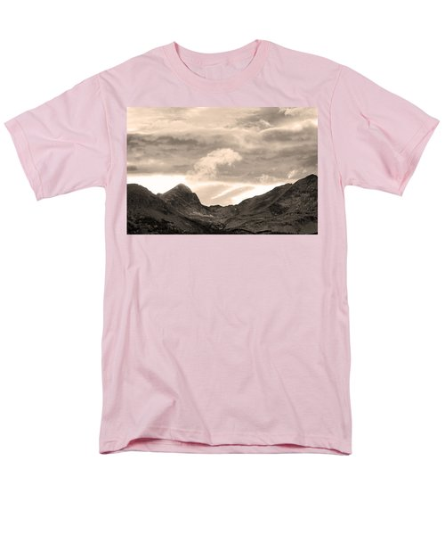 Boulder County Indian Peaks Sepia Image T-Shirt by James BO  Insogna