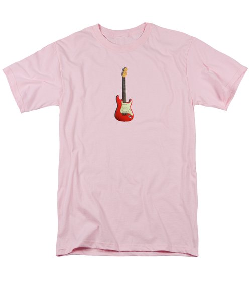 Fender Stratocaster 63 Men's T-Shirt  (Regular Fit) by Mark Rogan