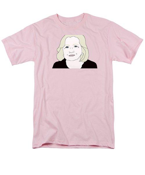Hillary Clinton Men's T-Shirt  (Regular Fit) by Priscilla Wolfe