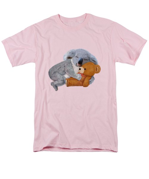 Naptime With Teddy Bear Men's T-Shirt  (Regular Fit) by Glenn Holbrook