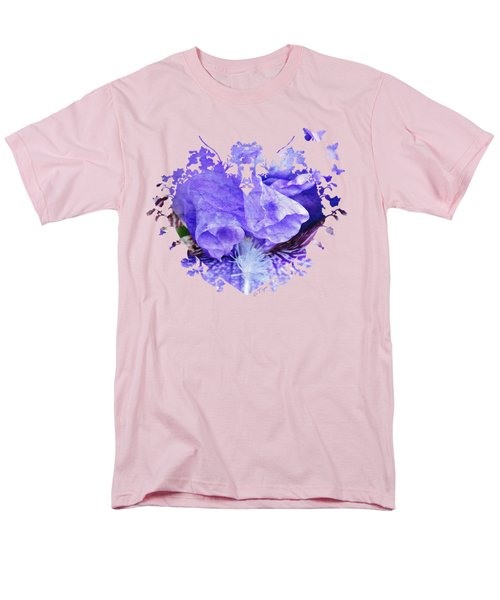Pretty Purple Men's T-Shirt  (Regular Fit) by Anita Faye