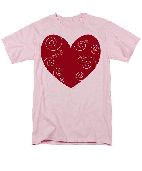 Red Heart T-Shirt by Frank Tschakert