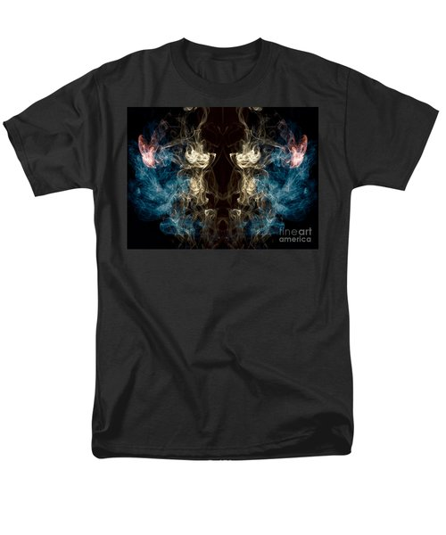 Minotaur Smoke Abstract Men's T-Shirt  (Regular Fit) by Edward Fielding