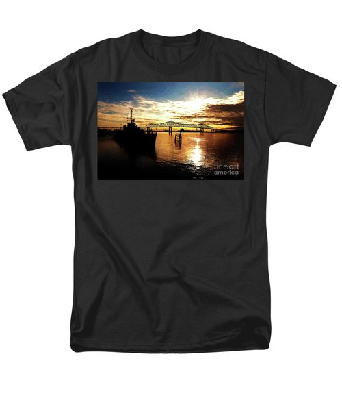 Bright Time on the River T-Shirt by Scott Pellegrin