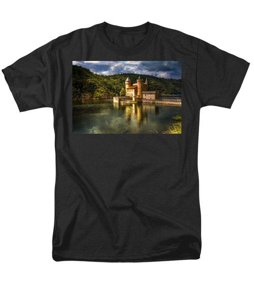 Chateau de la Roche T-Shirt by Debra and Dave Vanderlaan