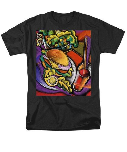 Dinner Men's T-Shirt  (Regular Fit) by Leon Zernitsky