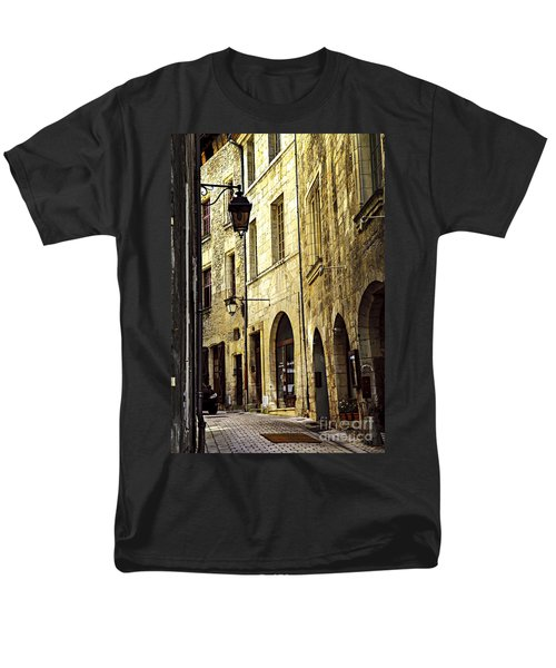 Medieval street in France T-Shirt by Elena Elisseeva